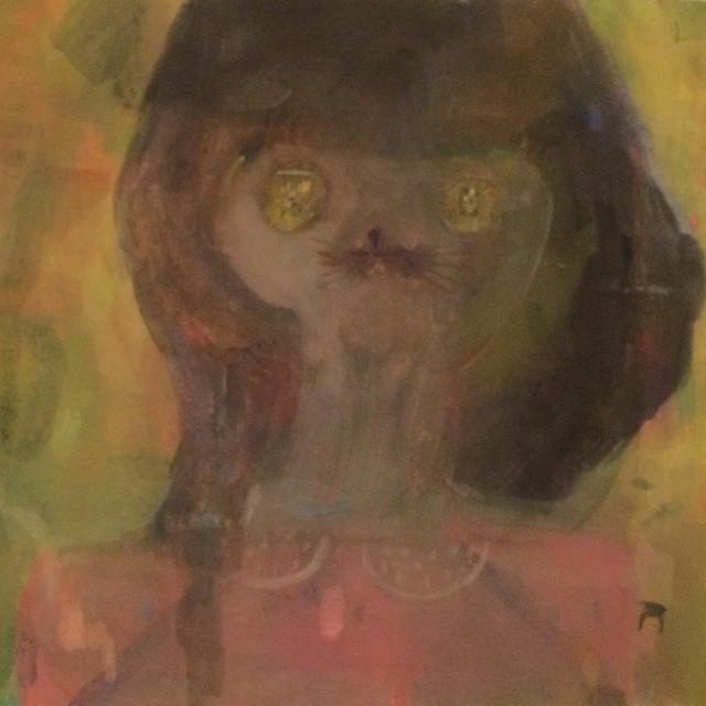 """""""わからない猫娘の肖像</p"""