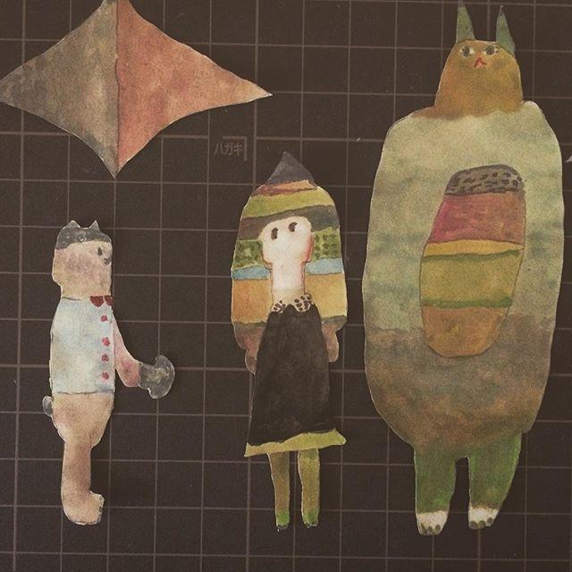 展覧会をみにツダさんとカズミさんと大阪をグルリ。二人はカタカナ。うたかた珈琲に 行けたらよいね️