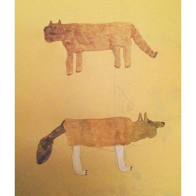 左に猫化⇦右に犬化⇨