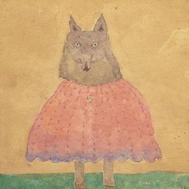 季節の変わり目  オオカミ ビジョン