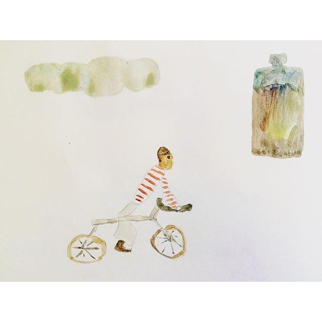 ちょっと昔に 小鳩さんが 世界には 5人のミスター・ツダがいると 詩で 朗読していたのだけど、  僕は 此処で 角の生えた自転車に乗った 1人のミスター・オオツカに  何度か 会った。