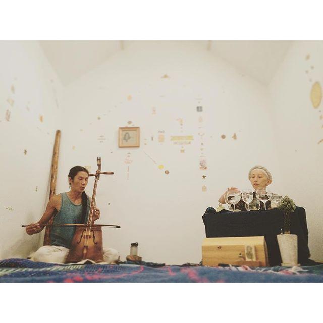 """""""TABIの音楽会 with UMU・PRISM・O・LYRA """" 身体に響く音#ささたくや #umu ・prism・o・lyra"""
