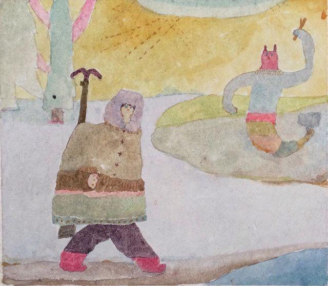 『怒った猫魚(モノ投げてくるヤツ)』 kousagisha gallery 加藤 智哉 常設展 「冬の部屋」 ◯12時〜18時まで◯3月12日に開催する 光兎舎のフリーマーケットまで 展示の観覧が できる様にしています。よろしかったら お寄り下さいませ。春が近いよ。目がかゆい。#kousagishagallery #加藤智哉 #光兎舎 #冬の部屋 #展覧会