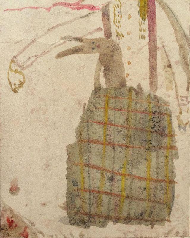 『rabbit & girl』布団から抜け出して1日が始まる様に。布からも  兎が 始まります。