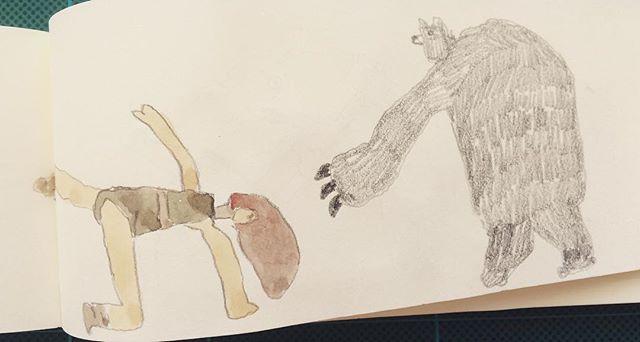 『レオタードと熊の手』
