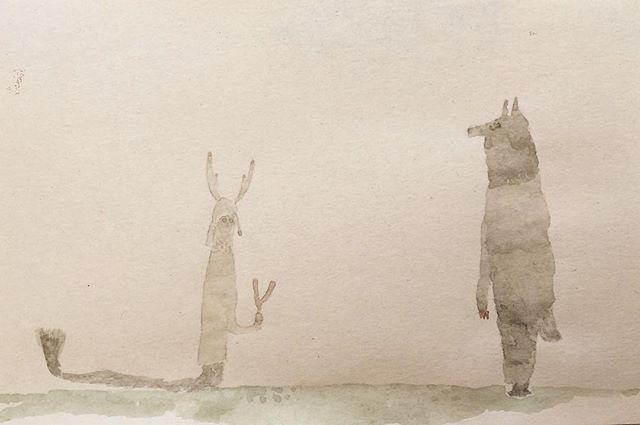 『龍人とオオカミの御目見』自分の内面を 客観的にみる為に 潜在意識にある世界を基準にする。