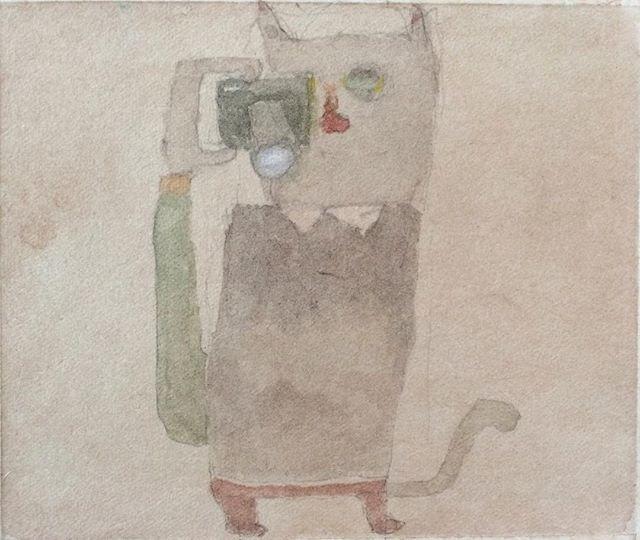 『martin Katze』martinさんに 「僕の絵が 描けるか?」 と 連絡があったけど、描けたよ。