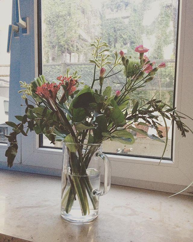 リタさんが 飾ってくれたお花。