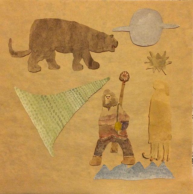 『Schwarzer Panther und Eskimo』未開地を 歩く強さと鋭さ。烏賊を連れて 惑星を知っていく。