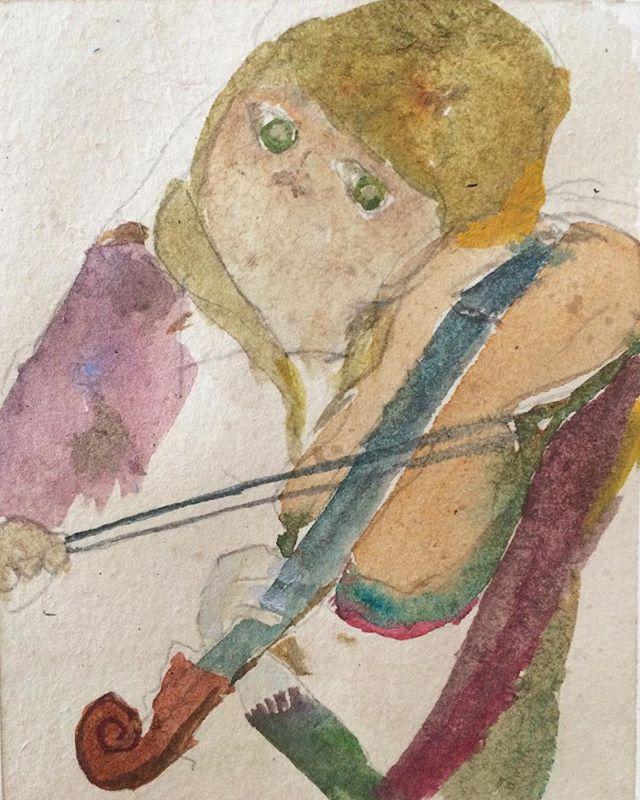 『バイオリン弾き』あの時の 思い出。