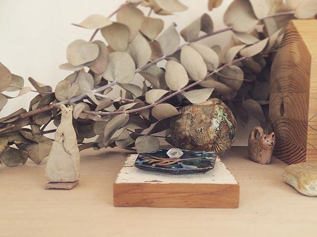 いただいた水晶。ミュンヘンには 石好きな方が 多いみたい。でも いただいたのは 日本で、 です。