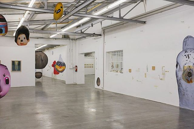 まだまだ開催中です。martin fengel × tomoya kato exhibition『Insel der Dachhasen(屋根兎の島)』6/15 〜 9/16Lothringerstr.13 halle / München