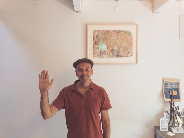 ミュンヘンから マーティン。手が 大きいみたい。
