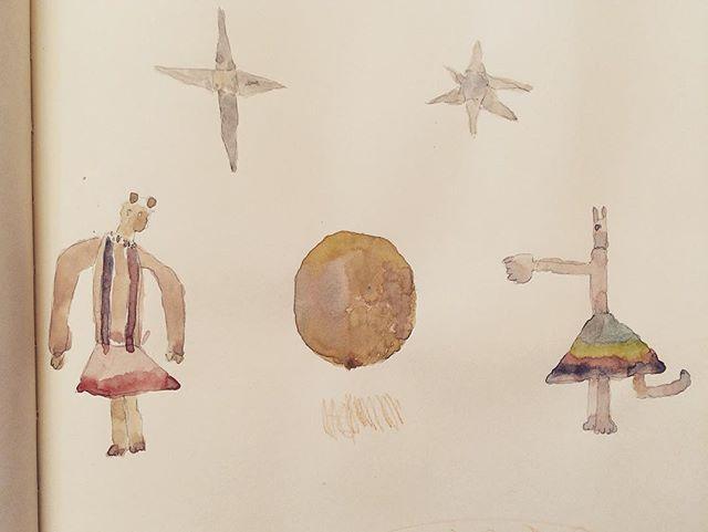 再投稿。星と惑星とスカート。