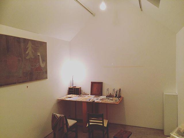 kousagisha gallery 、2月の空間に向けて。搬入開始。展覧会というより、ただ 空間を つくること。そんな中、最近 自分がよくわからない。でも 元々 わかっていなかったんだ。変化?不安。