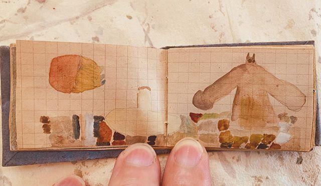 指と小さな未完成図鑑。