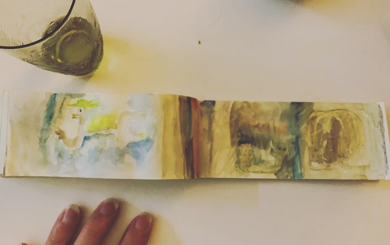 基本 日記帳にリアリティーは あるのだけど 大きい絵を描かないと 自分の世界が小さくなる年頃です。