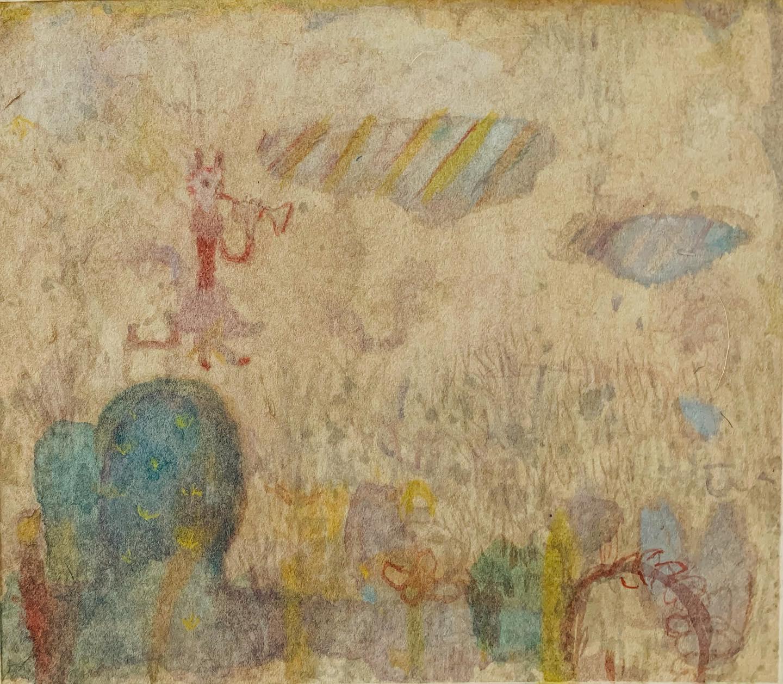 『Trumpet plant cat』最近の実感。大きい絵を描いていて 描きすぎて 画面が ただ たんぱくになってしまった。だから 今日は ツブす作業を 淡々とする。物語を伝えたいわけじゃない。つくりたいわけじゃない。「描写する」を「配置する」くらいにして、自分の世界欲(プラス欲)と距離をとって 空間と接する。ツブした後に 小さな絵を描く。大から小に移れる幸福感。昔、しなかったコトが 気負いなくできたり。「底はハンマーで殴って。僕は世界でひとりぼっち」